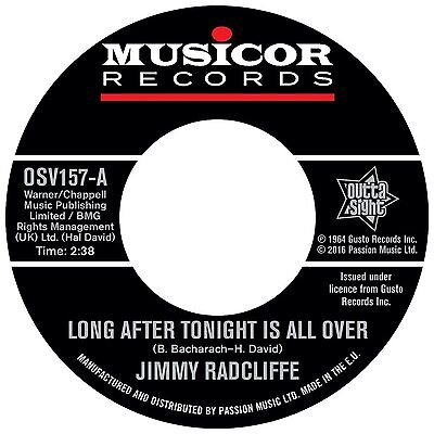 """Jimmy Radcliffe - Long After Tonight Is All Over - New 7"""" Single"""