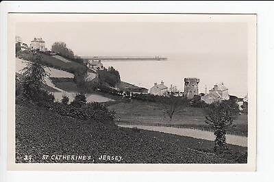 Jersey AGLM 29 St Catherines Real Photo Postcard