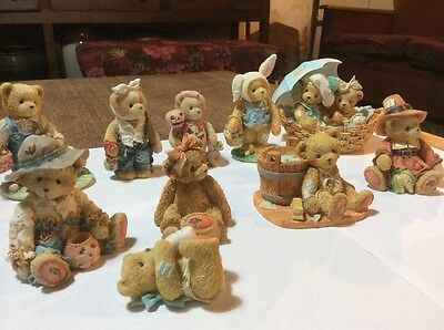 Collectible Cherished Teddies collection