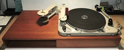 Thorens TD224 Turntable Early Serial #1773 Works Great Comes With Wooden Base.