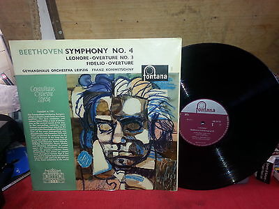 33 Giri Lp Beethoven Symphony No.4 Nade In Holland