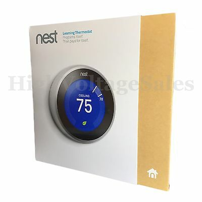 Nest Learning Thermostat 3rd Generation. New.