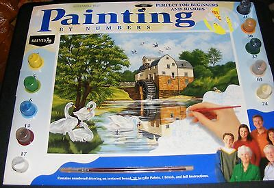 Painting by Numbers Watermill