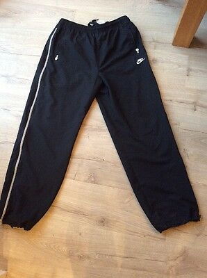 Men's Nike Black Joggers With Zip Pockets Size XL