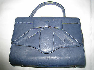 Ladies Blue Hand/shoulder Bag~~~New Without Tags~~~