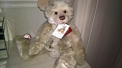 CHARLIE BEARS 8th Year Bear 2016 (retired) * Plumo bear by Isabelle Lee