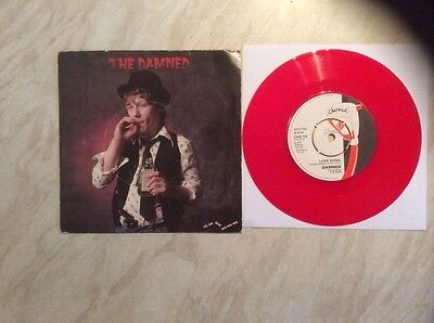 THE DAMNED - Love Song UK RED VINYL 7' - ALGY WARD SLEEVE