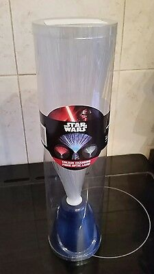 starwars colour changing fibre optic lamp