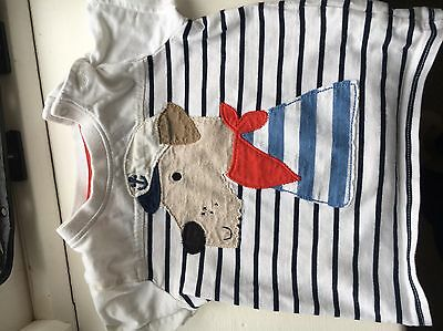 next baby boy 6-9 months Tshirt Top Clothes