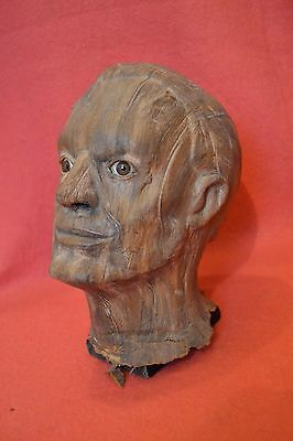 "ORIGINAL SCREEN-USED Monster from ""The Fear"" (1995) HORROR Movie Film Prop Head"