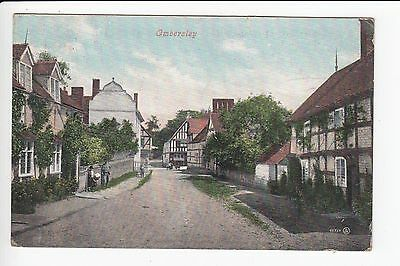 Worcestershire Ombersley Village Postcard Posted 1907