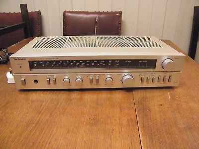 TECHNICS AMPLIFIER RECEIVER SA-104L nice condition Spares or repair
