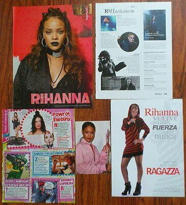 Rihanna - Poster Clippings Card