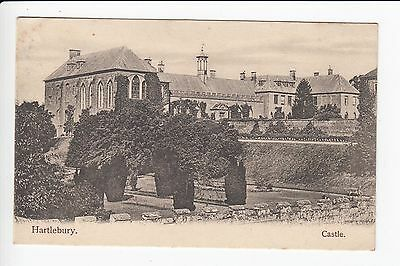 Worcestershire Hartlebury Castle Postcard Posted 1906