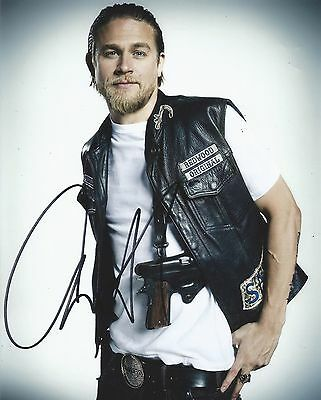 Charlie Hunnam Signed Sons Of Anarchy 10x8 Photo AFTAL