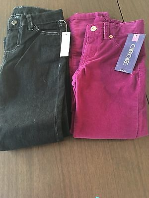 Girls Jeans Lot Of 2 Pieces, Bootcut & Skinny Size 6/6X NEW W/TAGS