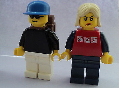 Lego City Male and Female Figures