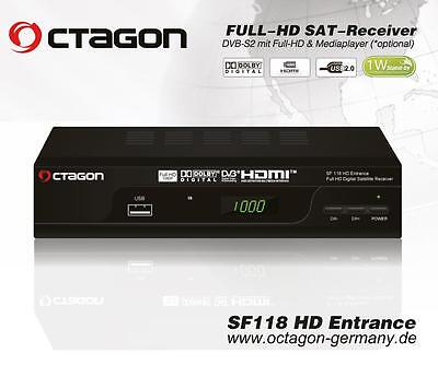 Opened Octagon SF118 High Definition Free To Air Budget Value Satellite Receiver