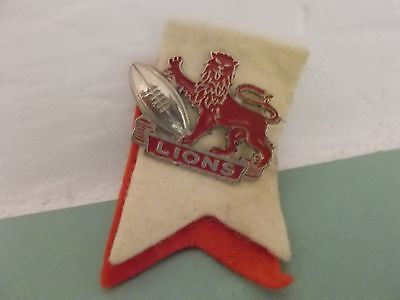 British & Irish Lions to south africa, pin badge (with felt flashes)