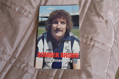 "SIGNED WBA ""Bomber Brown""-The Tony Brown Story-First Edition 1998"