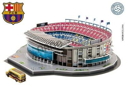 Barcelona Camp Nou Stadium ~ 3D Jigsaw Puzzle ~ Official Licensed Product
