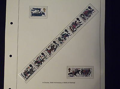 1966 Battle of Hastings Great british stamps, collectors, hobby ,home, dealers