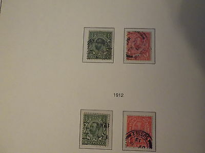 1911 & 1912 Great british stamps, collectors, hobby ,home, dealers