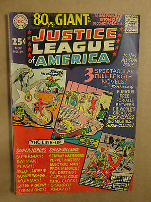 Jusice League of America 80 page Giant #39 DC Silver Age