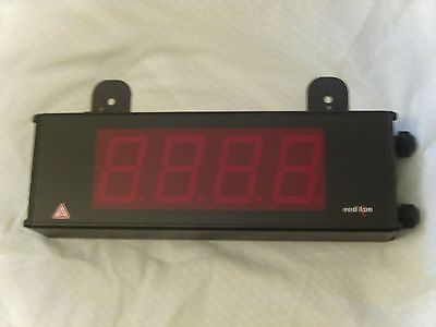 Red Lion counter model# LD200400, 4 Digits, one Present, red led DISCOUNTED!!!!!