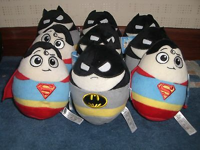 Job lot of 10 soft toys super heroes NEW with tags & labels