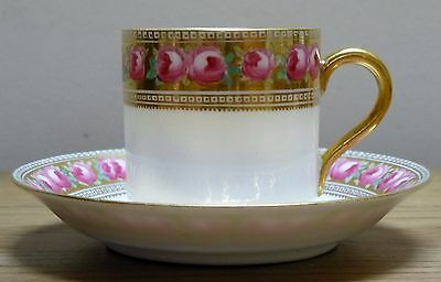 The Paragon China Small Coffee Can and Saucer.