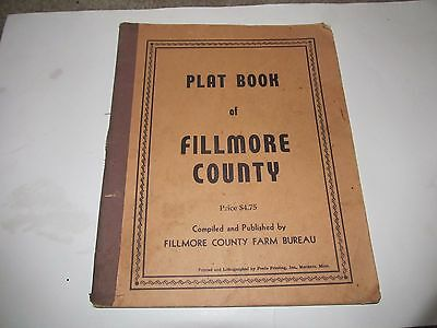 Plat Book Fillmore County Minnesota