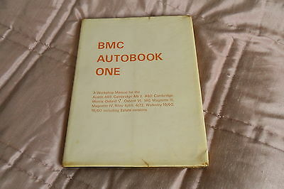 BMC Autobook One Workshop Manual-First Edition 1966