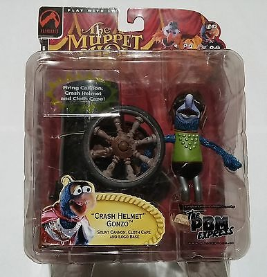 Crash Helmet Gonzo Figure by Palisades Toys - Muppet Show 25 Years