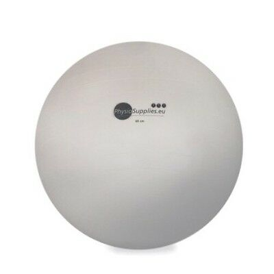 65cm New Pearl White GYM BALL ANTI BURST CORE EXERCISE YOGA FITNESS
