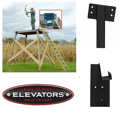 Compound Angle Elevators Heavy Gauge Steel Double Hunting Blinds Playhouses NEW