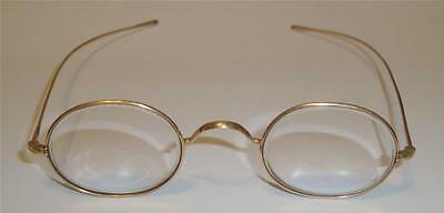 ANTIQUE OVAL GLASSES SPECTACLES  c 19thC   11