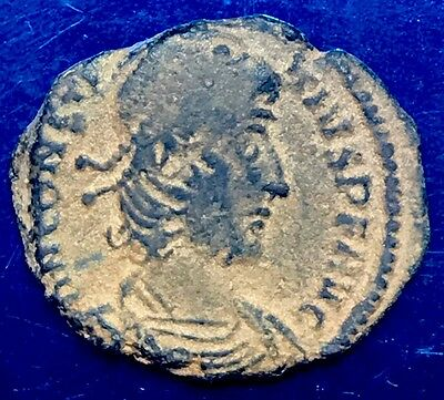 Constantius II AE3. Ancient Imperial Roman Coin. Thessalonica Mint.