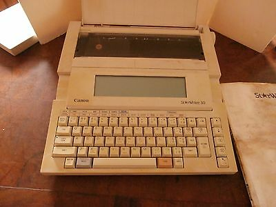 Vintage Canon Starwriter 30 Personal Publishing system word processor/manual
