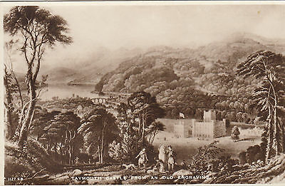 TAYMOUTH  CASTLE  from old engraving  -  ,  PERTH   -   Scotland  (z39)