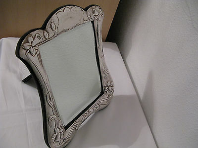 Silver Table Mirror fully UK halmarked London