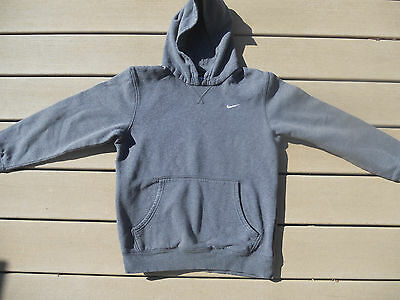Nike Youth Large Pullover Hoodie Gray EUC