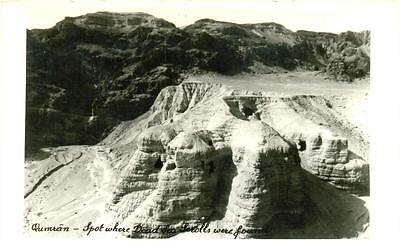 Qumran - Spot where Sead Sea Scrolls were found