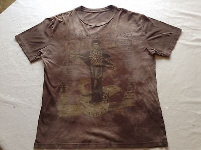 Rolling Stone Collection Guitar Gods J. Hendrix XL Tie Dyed T Shirt