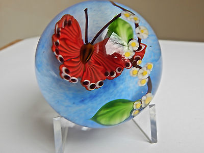 Mayaeul Ward Butterfly Large Marble Paperweight