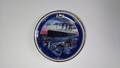 NEW Limited Edition Plate, Titanic: Queen of the Ocean, Number 1 Maiden Voyage