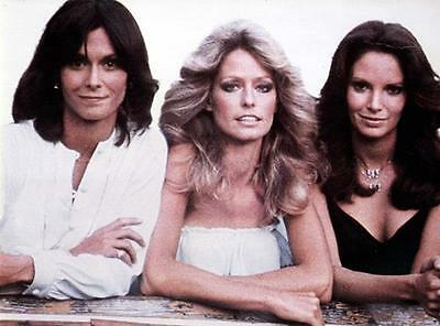 Kate Jackson  Farrah Fawcett Jaclyn Smith  Charlie's Angels   8X10 Photo 107