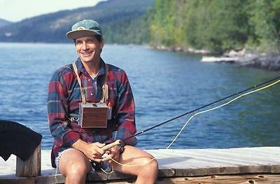 The A Team Dirk Benedict Fishing  8X10 Photo 109