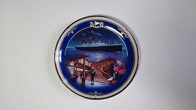 NEW Limited Edition Plate Titanic Queen of the Ocean Number 2 The Grand Suitcase