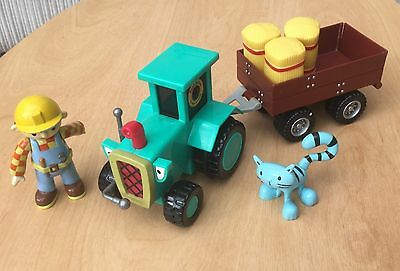 Bob The Builder Friction Driven Tractor and Trailer With Figures And Sound